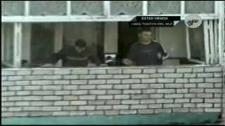#17 Ruso Borracho Cae desde el 2º Piso - Los Borrachos Fiesteros Más Tontos del Mundo