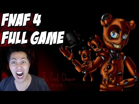 Five Nights at Freddy's 4: Gameplay Full Walkthrough Nights 1-5 Final Chapter