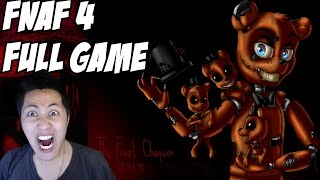 five nights at freddy s 4 gameplay full walkthrough nights 1 5 final chapter