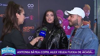 Antonia batea copiii, Alex Velea fugea de acasa