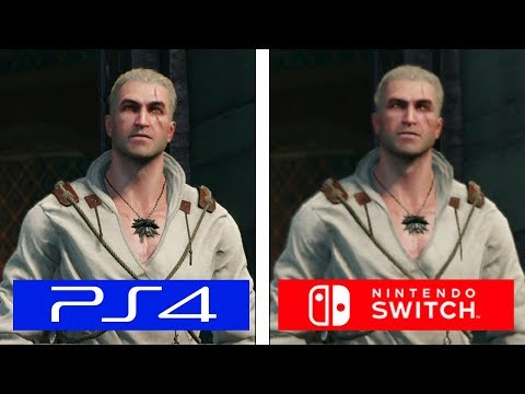 The Witcher III   PS4 vs Switch   Graphics & FPS Comparison