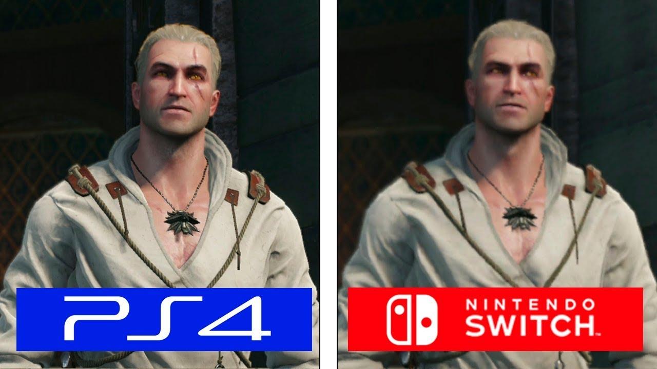 話題】『ウィッチャー3』のSwitch版・PS4版を比較!!みんなの