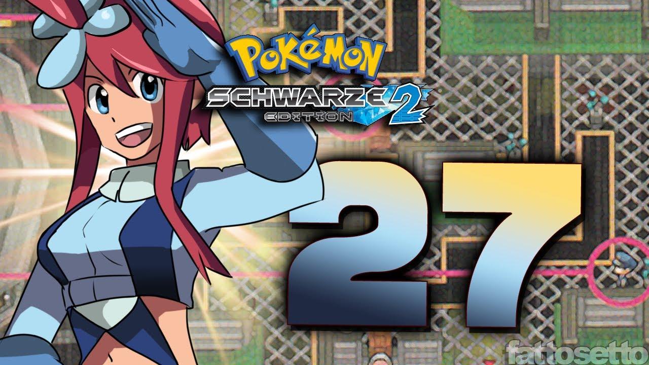 Lets Play Pokemon Schwarz 2 Part 27: Geraldine Challenge