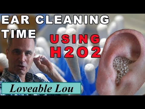 Cleaning My Ears using Hydrogen Peroxide, H2O2