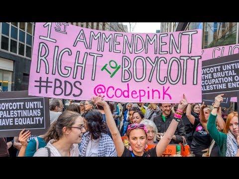 Senators Sneak Amendment to Make Israel Boycott Illegal