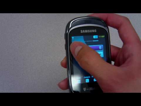 Official Review of the Samsung Gravity T (T-Mobile) Part 1 of 2