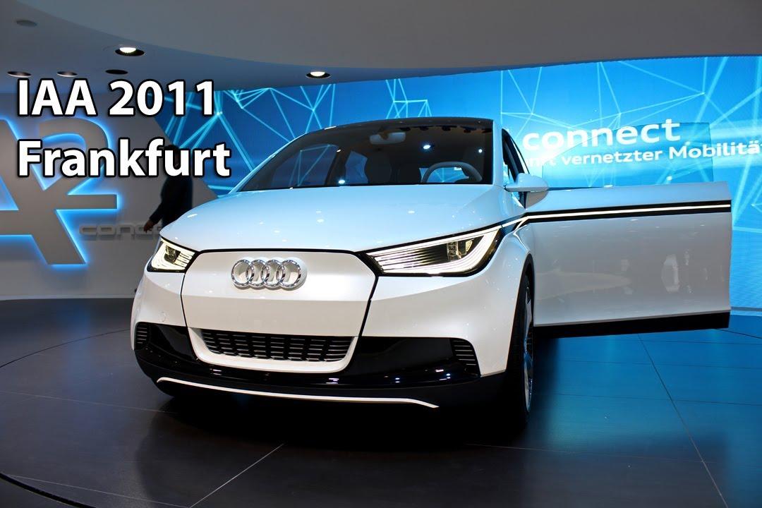 Audi A2 Concept Iaa Frankfurt 2011 Hd Youtube