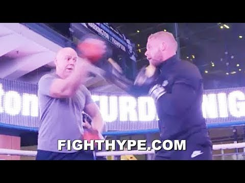 BILLY JOE SAUNDERS DESTROYS MITTS WITH POWER AND SPEED; EAGER TO LIGHT UP SERA AFTER YEAR LAYOFF