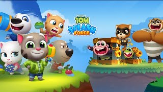 TALKING TOM SPLASH FORCE - ANDROID GAMEPLAY #1 HD