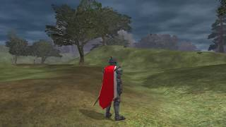 Showing off my Level 35 Shadow Knight in EverQuest II. Classic Armor set. (Sword&Sheild)