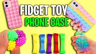 FIDGET TOYS CASEIRO COMO FAZER | 3 DIY -  POP IT PHONE CASE AT HOME - EASY AND QUICK