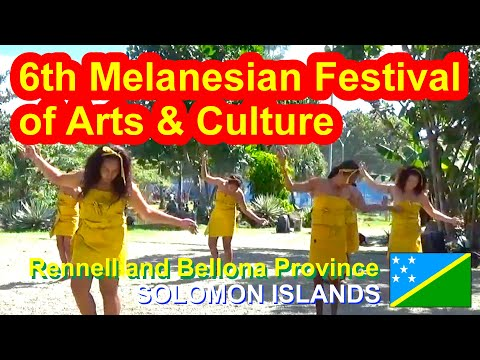 Rennell and Bellona Province, Solomon Islands, 6th Melanesian Festival of Arts and Culture