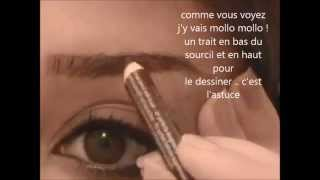 TUTO : comment je fais mes sourcils / how i do my eyebrows Thumbnail