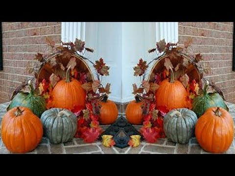 2017 Thanksgiving Front Porch Decorating Ideas