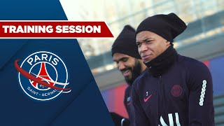 VIDEO: TRAINING SESSION: REIMS vs PARIS SAINT-GERMAIN with Mbappe, Neymar JR, Cavani & Verratti