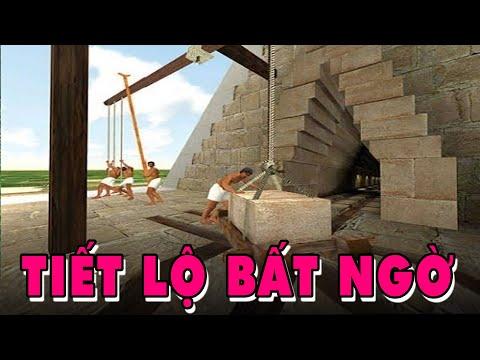 Giới Khoa Học Kinh Ngạc Trước Cách Xây Kim Tự Tháp Của Người Ai Cập Xưa