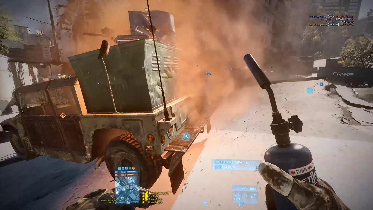 Battlefield 3 Conquest: Epicenter Beast Mode: On 43-7 SG553