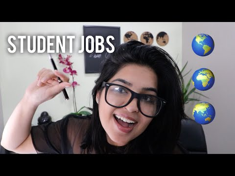 HOW TO | Find Part Time Work | Student Jobs | Canada | Australia | USA | England Pt 1/3