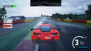 Assetto Corsa Competizione • E3 2018 Tech Demo Gameplay Wet Race • PC