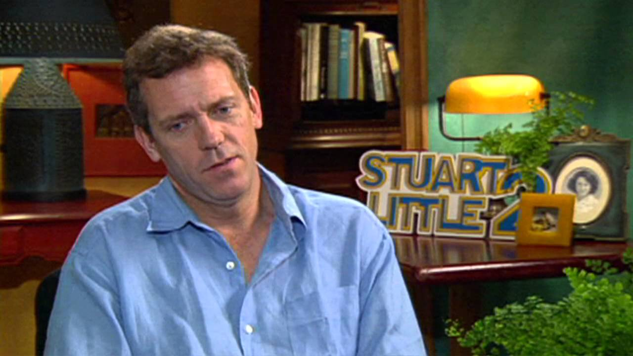 Stuart Little 2: Hugh Laurie Interview - YouTube