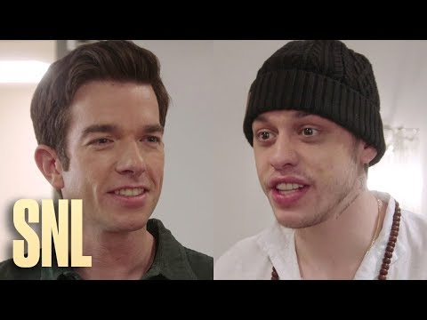 SNL Host John Mulaney Finds a New and Improved Pete Davidson