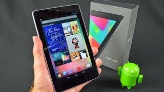 Nexus 7 - Google Nexus 7 Tablet: Unboxing & Review