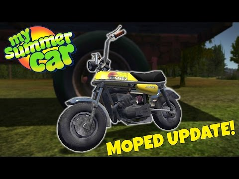 MOPED UPDATE & CRASHES! - My Summer Car Update Gameplay - EP 26