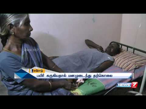 Farmer commits suicide by consuming poison after loss in agriculture at Erode | News7 Tamil