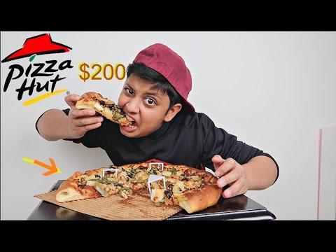 تجربة اغلى بيتزا في العالم !! 230$ !!