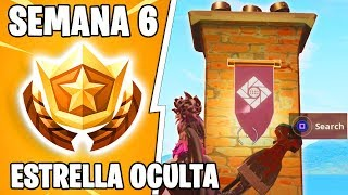HIDDEN STAR SEMAINE 6! FORTNITE Desert Secret Mountain (en)