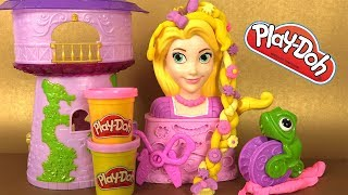 Raiponce  Pâte à Modeler Play Doh Coiffures Royales Princesse Disney