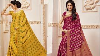 Party wear sarees exclusive collection | Hot saree image 2017 ✱ ✱ saree designs