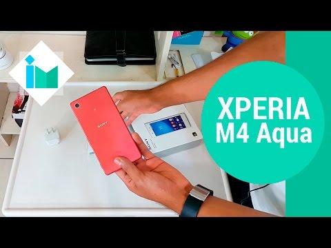 Sony Xperia M4 Aqua - Unboxing en español