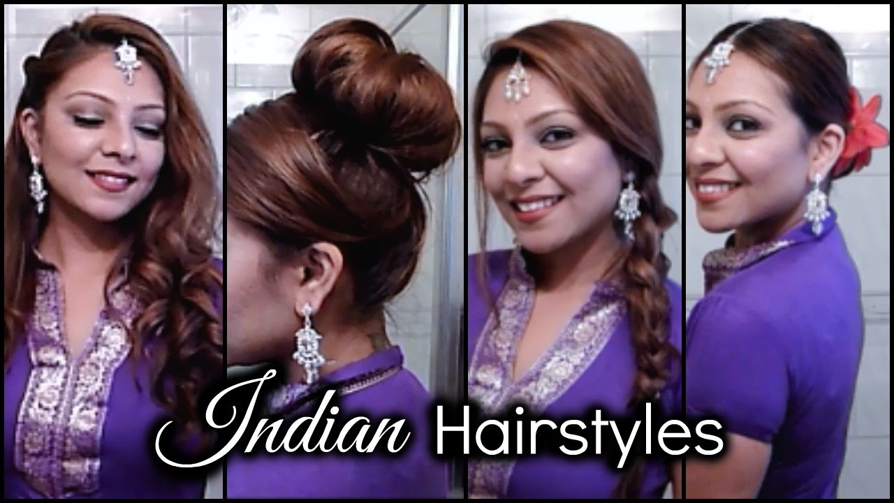 Mehndi Hairstyles With Tikka : Quick & easy indian hairstyles │ parties weddings events mehndi