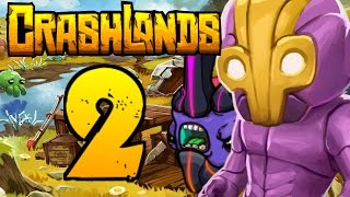 DEADLY BEASTS!! | Crashlands Let's Play | Part 2