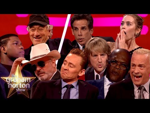 Recreating Film Moments On The Graham Norton Show Part Two
