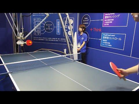 Ping Pong Robot at Omron Automation Lab