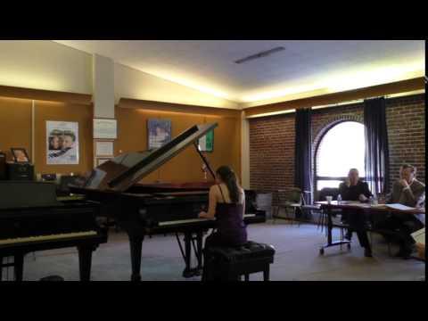 Kaufman Music Center International Competition Preliminary Round