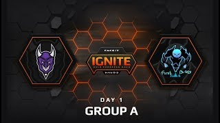 DEMONICA.PURPLE vs FIRST BOSS - GROUP A (FACEIT Ignite: Halo European Open)