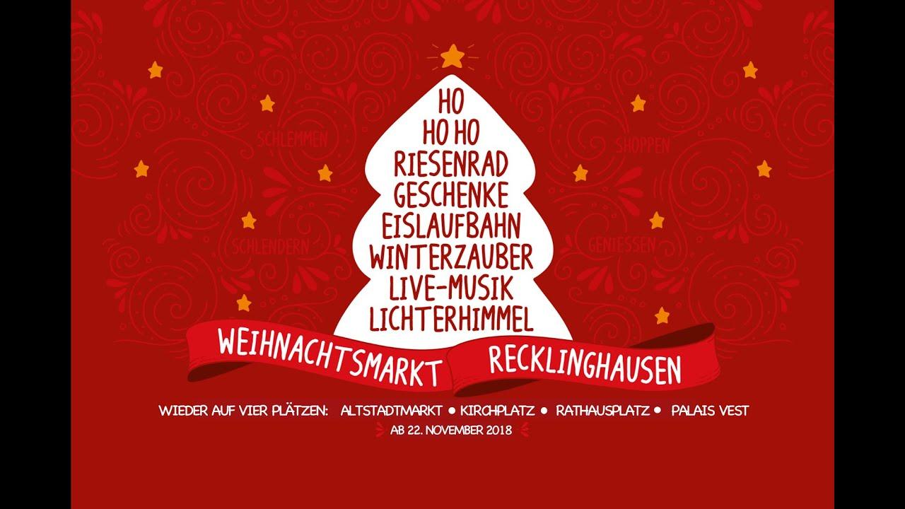 Weihnachtsmarkt Recklinghausen.Der Wunderschöne Weihnachtsmarkt In Recklinghausen