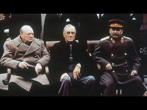 L'Allemagne écrasée (Accords de Yalta, du 4 au 11 février 1945)