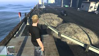 GTA 5 PC - Sticky Bomb Launch