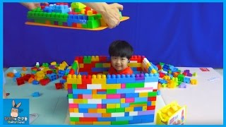 메가블럭 1000개 대형 서프라이즈 선물 박스 만들기! 그 안에 무엇이? ♡ 블럭 장난감 놀이 Mega bloks Gift Box | 말이야와친구들 MariAndFriends