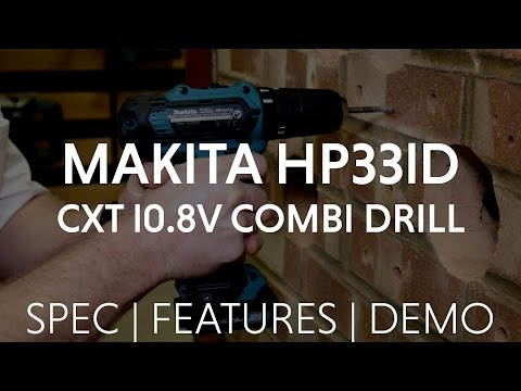 MAKITA HP331D *NEW* 10.8V CXT COMBI-DRILL from Toolstop FIRST LOOK!