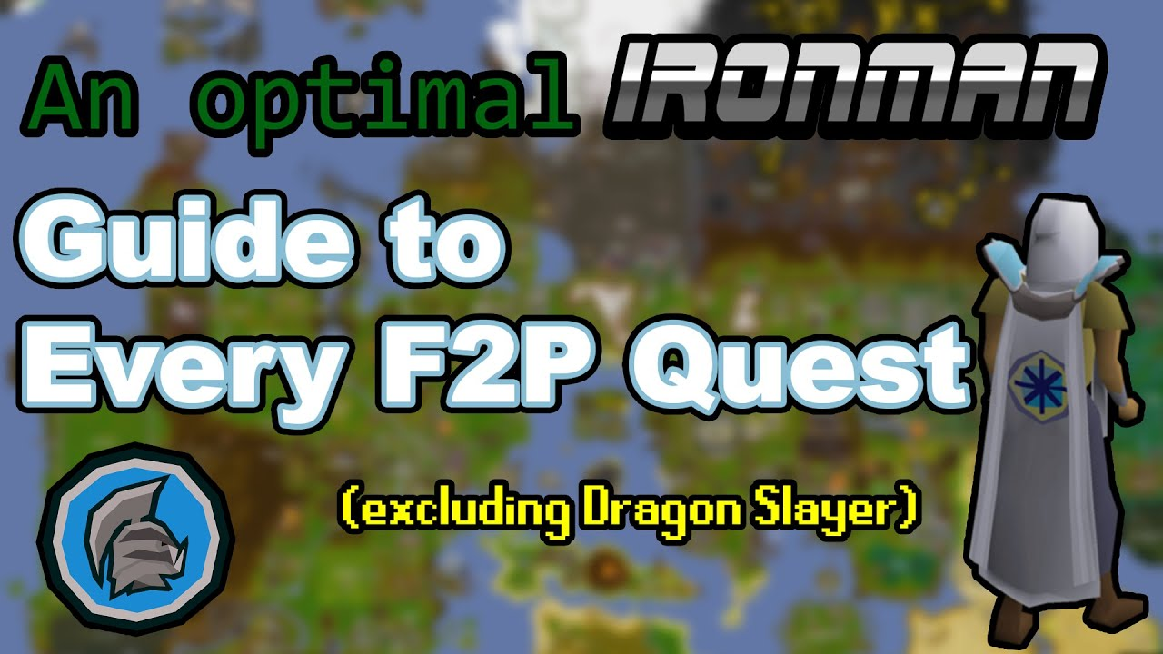 Download OSRS Efficient F2P Quest Guide for Ironmen