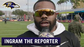 Mark Ingram Reports Live From the Pro Bowl | Baltimore Ravens