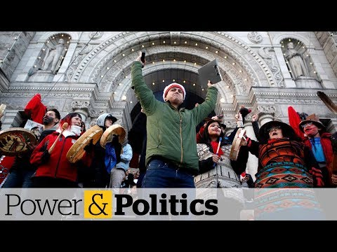 Pipeline protests shut down rail line, disrupt B.C. legislature | Power & Politics