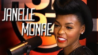 Janelle Monae considers dating Old Man Ebro and Rosenberg calls him a Creep!