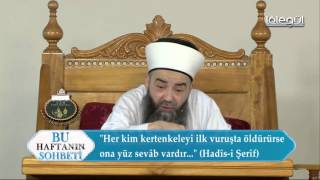 Namık Kemal Zeybek' e Reddiye - Cübbeli Ahmet Hoca