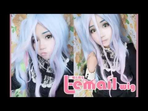 L-Email / Wig-Supplier Shiro No Game No Life Wig Review